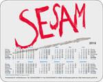 Mousepads firmenkunden bedrucken werbegeschenk referenz design beispiel logo kalender 4c farbig bedruckt