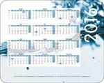 Mousepads firmenkunden bedrucken werbegeschenk referenz design beispiel logo jahresuebersicht kalender