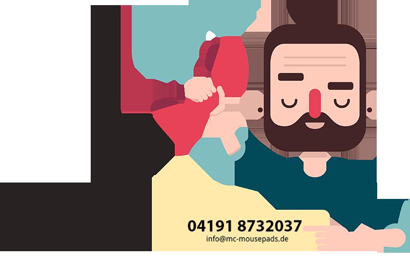Kontaktformular Service bei Mc Mousepads