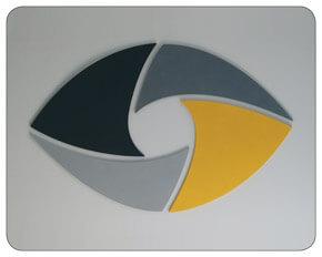 Mousepads bedrucken werbegeschenk referenz design beispiel mousepads mit logo bedruckt